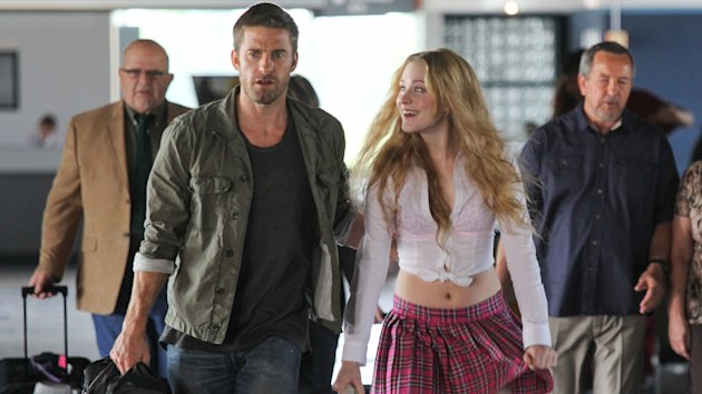 Scott Speedman and Evan Rachel Wood in 'Barefoot'