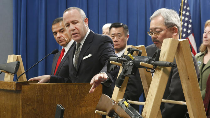 California gov. vetoes semi-automatic rifle ban