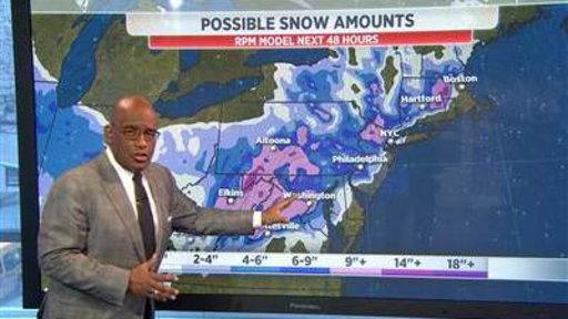 Fierce Winter Storm Threatens Midwest to East Coast
