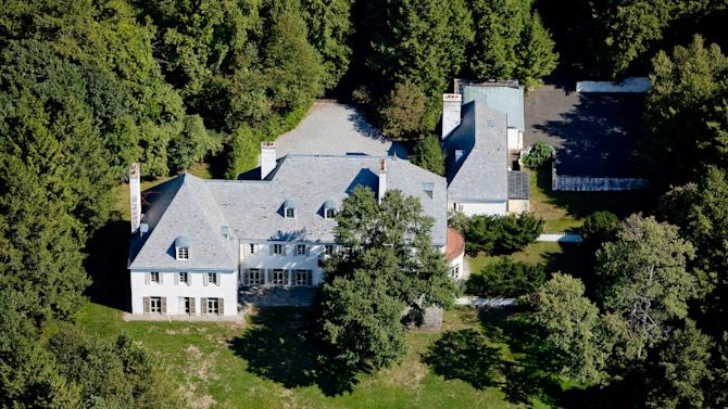FILE - This photo provided in 2010 by Barbara Cleary's Realty Guild shows the estate of Huguette Clark in New Caanan, Conn., which had not been lived in for more than two decades since its owner became ill and ended up a recluse in a New York hospital room before dying at the age of 104. The late copper heiress' huge gifts to her staff are now in the spotlight in a New York City court fight, and an official handling the estate wants $37 million returned. (AP Photo/File)