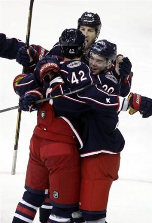 Anisimov's OT goal lifts CBJ past Avs, 2-1