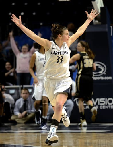 No. 8 Penn St. women beat No. 13 Purdue 69-61