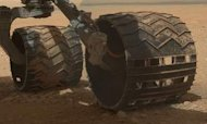 Martian Sand Set To Get All Shook Up By Rover