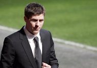Liverpool football club captain Steven Gerrard at a service in Liverpool in 2008 to mark the 19th anniversary of the Hillsborough disaster, in which his cousin, aged 10, was one of the 96 fans killed. Thousands of official documents relating to the 1989 Hillsborough football disaster will be published for the first time in Britain on Wednesday