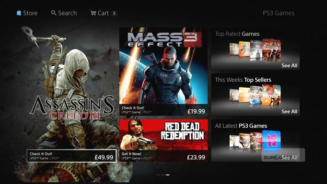 Sony's digital PlayStation Store is getting a massive makeover on October 17th