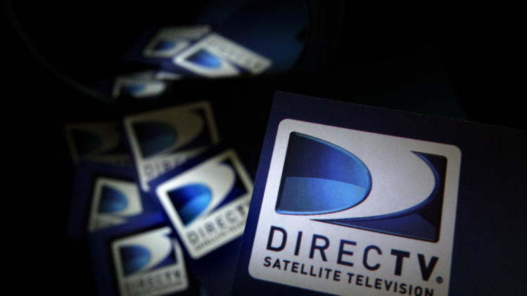 FILE - In this Thursday, Aug. 6, 2009, file photo, DirecTV logos are seen on flyers in North Andover, Mass. The Satellite TV Producer has done a great job slashing expenses and expanding abroad, and that has helped life its 2014 earnings per share dramatically in five years. (AP Photo/Elise Amendola)