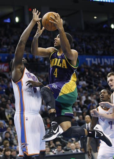 Thunder hang on to beat Hornets 101-93