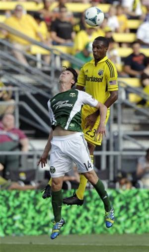 Crew cool off Timbers 1-0