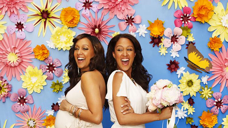 "Tia Mowry Hardrict and Tamera Mowry star in ""Tia & Tamera."""
