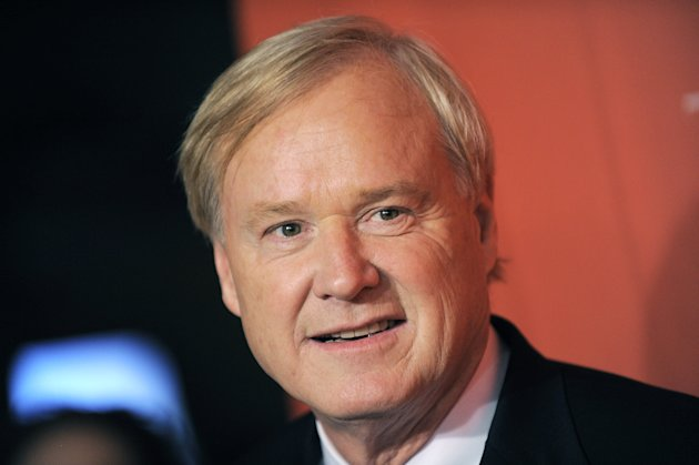 "This May 5, 2009 photo shows Chris Matthews arriving at the Time 100 Gala, in New York. In the cable television news world where provocation is prized, MSNBC's Chris Matthews took home the trophy from Tampa's Republican national convention as most over-the-top pundit. Matthews engaged in a bitter verbal brawl on ""Morning Joe"" with Republican National Committee Chairman Reince Priebus that upset the show's hosts, accused the GOP of conducting a campaign of race-baiting and suggested Republican presidential candidate Mitt Romney is not proud of his record in public life. Now that opinion is a key component of cable news and commentators are asked to cover events run by a political party they disagree with on a daily basis, such contentious weeks aren't that surprising. (AP Photo/Evan Agostini)"