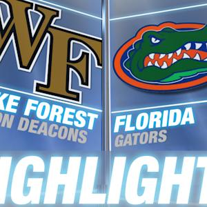 Wake Forest vs Florida | 2014-15 ACC Men's Basketball Highlights