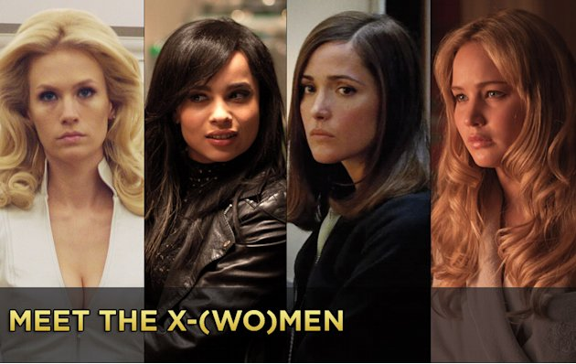 Meet the X-Women title Card