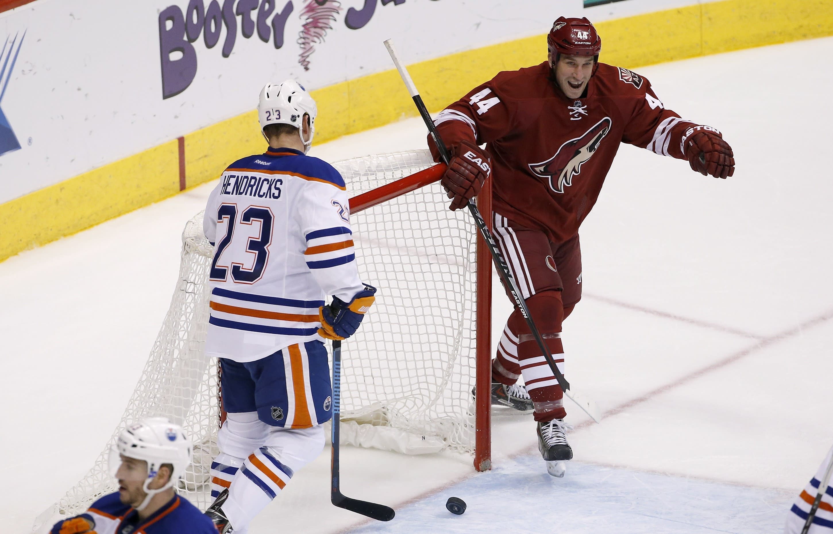 Coyotes pull out 2-1 win over Oilers in OT
