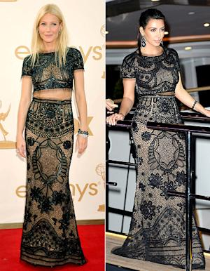 Who Wore It Best: Gwyneth Paltrow or Kim Kardashian?