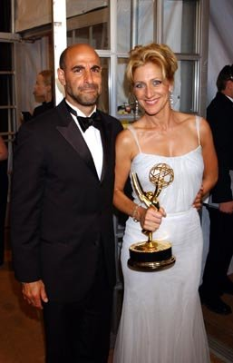 Stanley Tucci and Edie Falco
