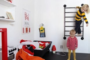 7 cool ladders for kids rooms!