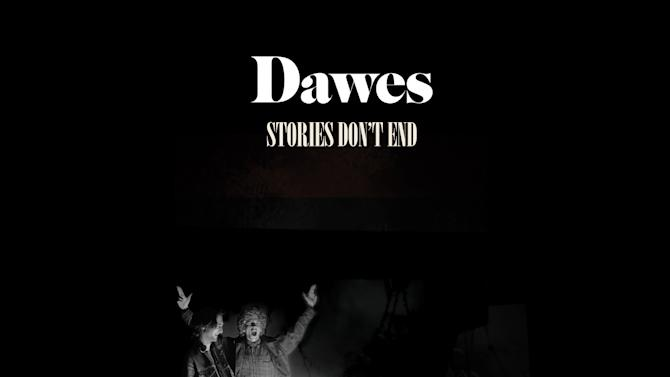 """This CD cover image released by Hub shows """"Stories Don't End,"""" by Dawes. (AP Photo/Hub)"""