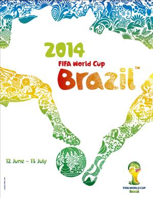 FILE - In this file image released by FIFA shows the logo for the 2014 FIFA World Cup soccer tournament that will be held in Brazil. Tickets for next year's World Cup have gone on sale online on Tuesday, Aug. 20, 2013. (AP Photo/FIFA, File)