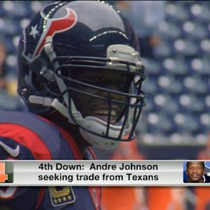 Why is Andre Johnson seeking a trade?