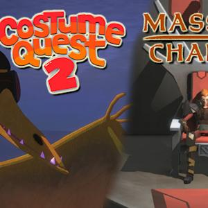 Costume Quest 2 and Massive Chalice - Double Fine Preview