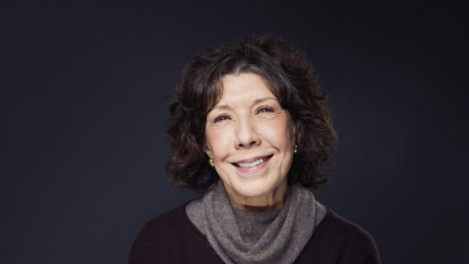 """Lily Tomlin poses for a portrait to promote the film, """"Grandma"""", at the Eddie Bauer Adventure House during the Sundance Film Festival on Monday, Jan. 26, 2015, in Park City, Utah. (Photo by Victoria Will/Invision/AP)"""