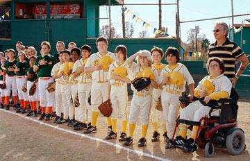 Billy Bob Thornton and the team in Paramount Pictures' Bad News Bears