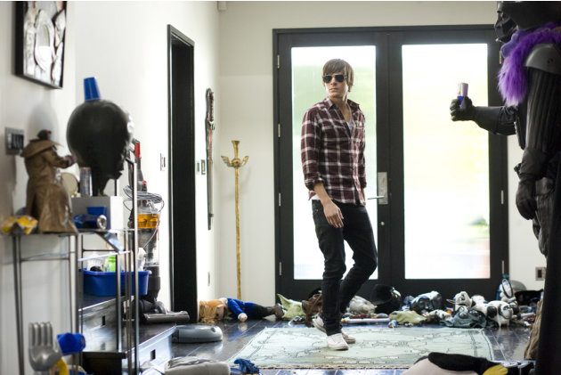 Zac Efron 17 Again Production Stills New Line 2009