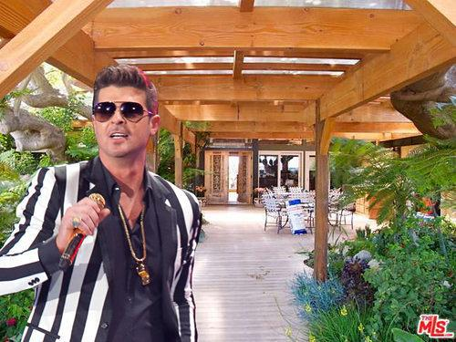 Celebrity Real Estate: Here's Robin Thicke's New Malibu House and Horse Corral