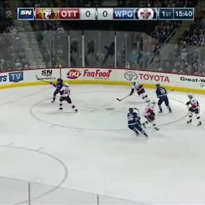 Andrew Hammond Save on Michael Frolik (04:23/1st)