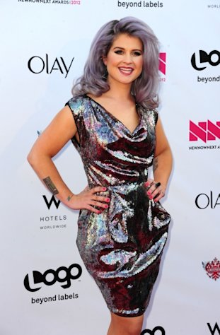 Kelly Osbourne shines at Logo&#39;s &#39;NewNowNext Awards&#39; 2012 at Avalon in Hollywood, Calif. on April 5, 2012 -- Getty Images