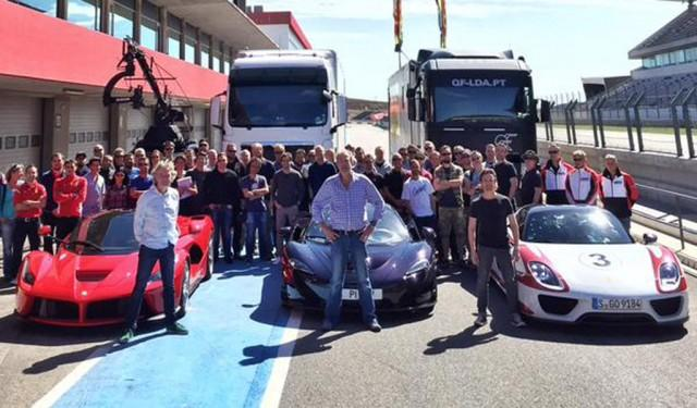 Clarkson, Hammond And May To Start New Show With LaFerrari, P1 & 918 Spyder Comparo?