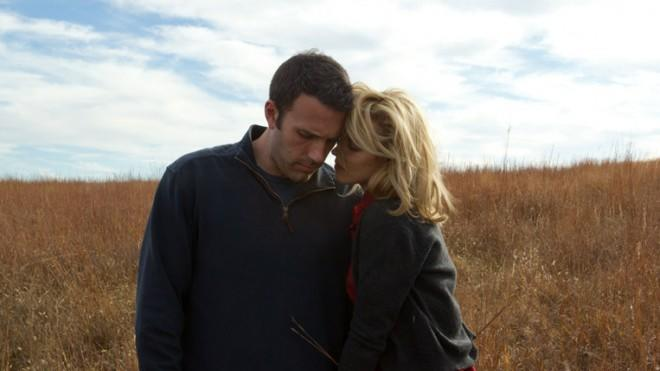 Ben Affleck and Rachel McAdams in To The Wonder.