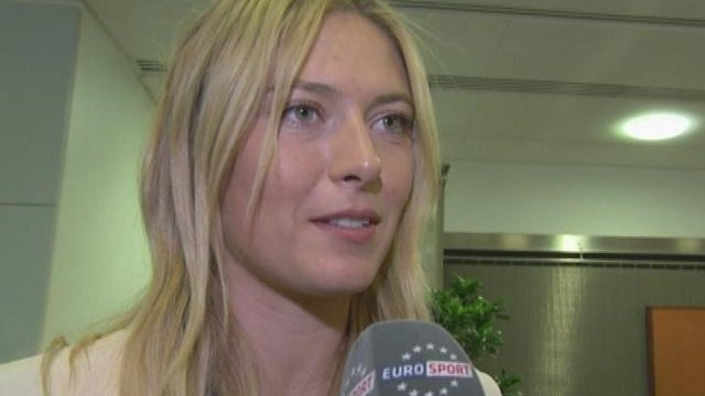 Sharapova well prepared for French
