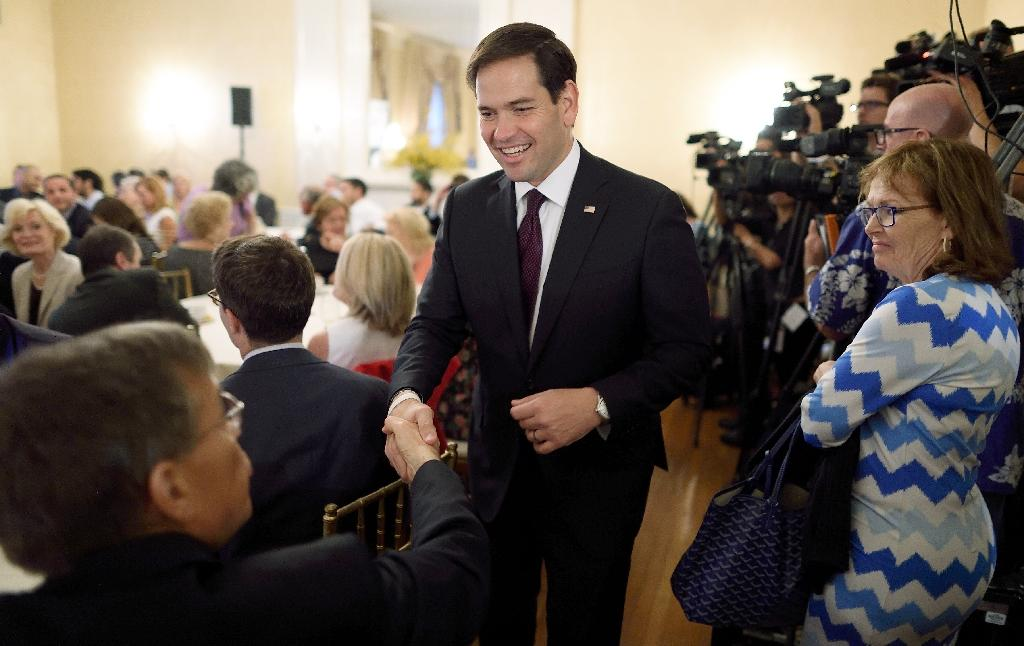 Rubio hopes role as last happy Republican is path to victory