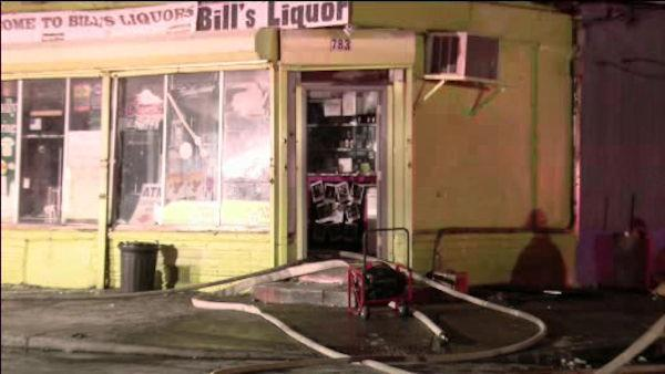 Fire affects 2 Camden businesses