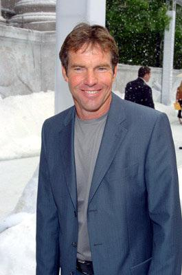 Dennis Quaid at the New York premiere of Twentieth Century Fox's The Day After Tomorrow