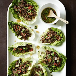 Chilli Beef Lettuce Wraps: Recipes
