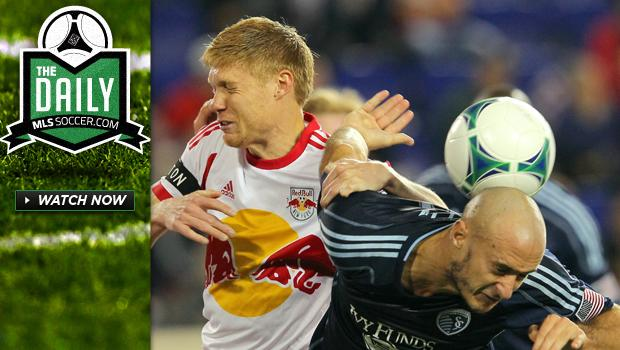 The Daily 4/18 - New York fall to SKC at home, Orlando City inches closer to stadium