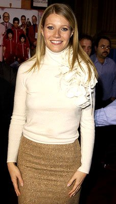 Gwyneth Paltrow at the Hollywood premiere of The Royal Tenenbaums