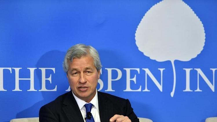 "JPMorgan Chairman and CEO Jamie Dimon speaks at the Aspen Institute's ""Closing the Workforce Skills Gap"" seminar"