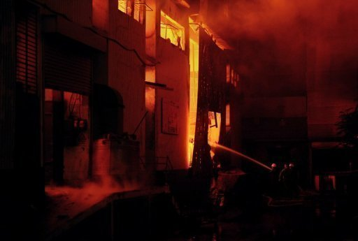 At least 280 people died at a garment factory in Karachi, in the worst blaze in decades to hit Pakistan's biggest city