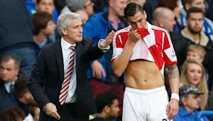 American Exports: Geoff Cameron leaves Stoke City loss with apparent injury