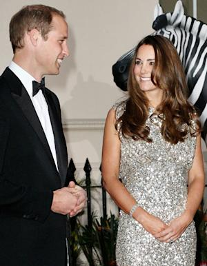 "Kate Middleton Says Prince George Is ""a Mix of Both of Us"" on First Night Out With Prince William"