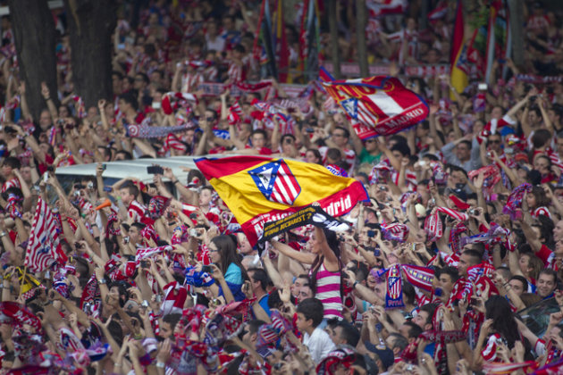 Atletico Madrid Supporters AFP/Getty Images