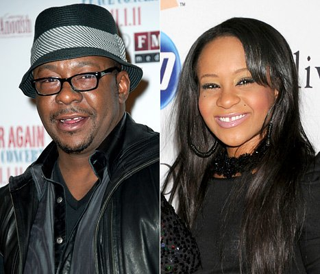 Bobbi Kristina, Bobby Brown Reunite for Lunch in NYC