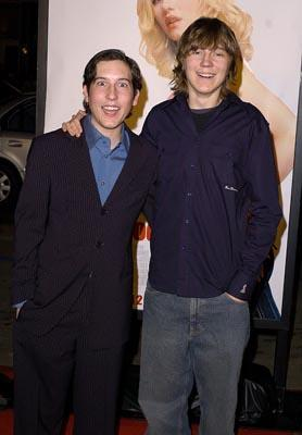 Chris Marquette and Paul Franklin Dano at the LA premiere of 20th Century Fox's The Girl Next Door