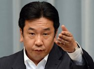 Japan's industry minister, Yukio Edano (pictured in June) has stepped into the national debate on energy policy, saying the nation could phase out nuclear power by 2030 without hurting the world's third-largest economy