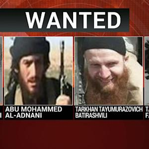 U.S. offers reward for four ISIS leaders