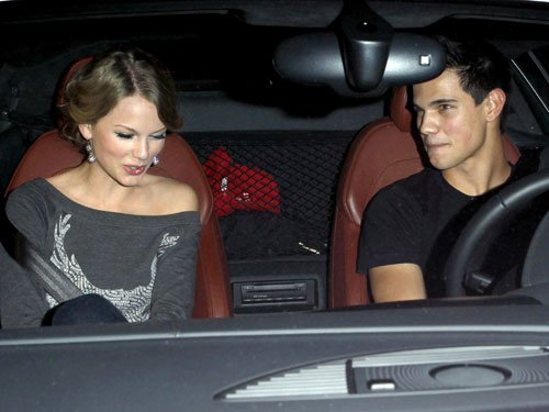 Taylor Swift & Taylor Lautner