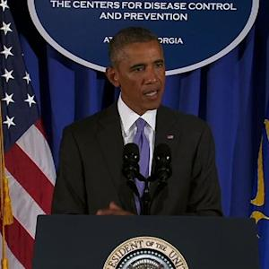 "Obama calls Ebola epidemic a ""potential threat to global security"""